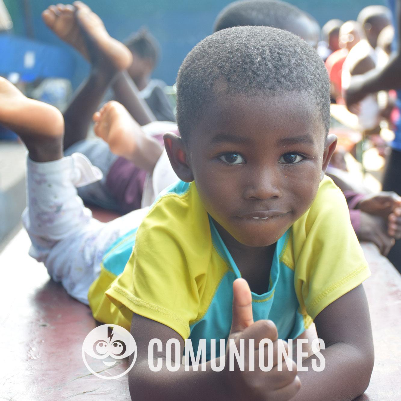 Tarjeta de Comuniones solidarias - Celebraciones solidarias y regalos solidarios - Child Heroes