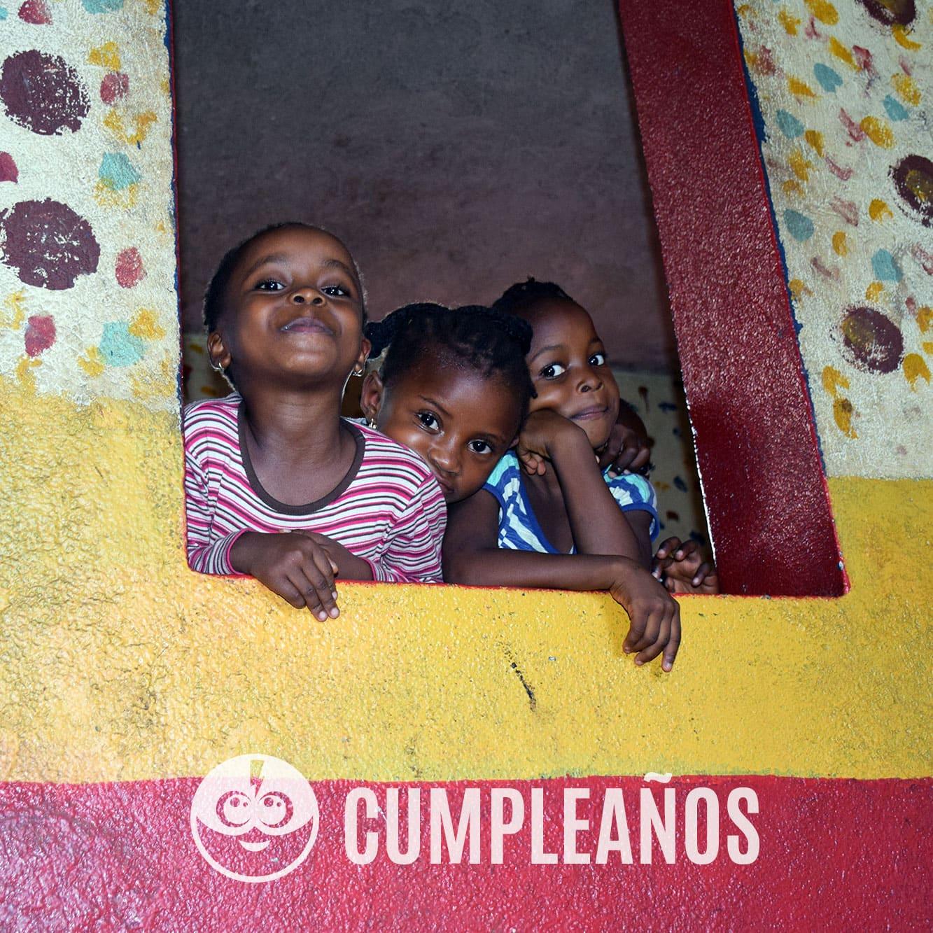 Tarjeta de cumpleaños solidario - Celebraciones solidarias y regalos solidarios - Child Heroes