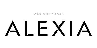 """Logotipo """"Alexia - Más que Casas"""" - Comunidad de ayudantes de Child Heroes"""